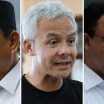 Survei Elektabilitas Capres 2024: Ganjar dan Anies Bersaing Ketat, Prabowo Ketiga