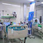 Tenaga kesehatan di Kota Tangerang nampak merawat sejumlah pasien.