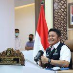 Gubernur Sumatera Selatan (Sumsel) H. Herman Deru