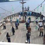 Deklarasi di Atas Kapal, Relawan Gus Muhaimin di Sambas Keluarkan Tiga Maklumat