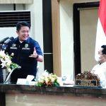Herman Deru Terus Lakukan Pematangan Persiapan Pembangunan Pelabuhan Tanjung Carat