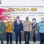 Herman Deru Bentuk Tim Khusus Salurkan Sumbangan Keluarga Aikidi Senilai Rp 2 Triliun untuk Penanganan Covid-19 Sumsel