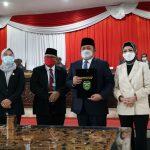 HD dan Ketua DPRD Sumsel Tandatangani Nota Kesepakatan Rancangan Awal Perubahan RPJMD 2019-2023