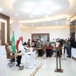 Bersama Presiden Jokowi, MY Ikuti Peringatan Hari Anak Nasional