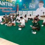 Sambut Harlah Ke 23, PKB Se Banten Bagi Sembako, Daging Qurban Bagi Isoman dan Khataman Alquran