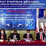 Rapimnas DPP Peradi Pergerakan Hasilkan Tiga Rekomendasi