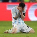 Tangis Haru Lionel Messi Usai Persembahkan Gelar untuk Argentina