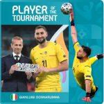 Donnarumma Sabet Gelar Pemain Terbaik Euro 2020