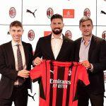 Resmi! Tinggalkan Chelsea, Olivier Giroud Gabung Milan