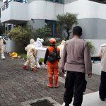Jenazah WNA yang ditemukan meninggal akibat covid-19 di Apartemen Prapanca, Jakarta Selatan.