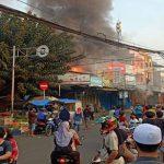 (Foto: Instagram Pemadam Kebakaran DKI Jakarta)