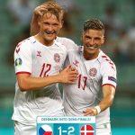 Tundukkan Ceko, Denmark Lolos ke Semifinal Euro 2020