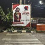 Lagi! Usai 'OPEN BO', Baliho Puan Dicoret PKI dan Koruptor