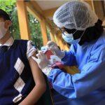 Vaksinasi anak usia 12 tahun plus di Kota Tangerang.