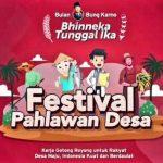 PDIP Gelar Festival Pahlawan Desa, Megawati Ingin Desa Jadi Pembumian Pancasila
